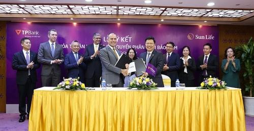 TPBank và Sun Life Việt Nam ký kết thỏa thuận độc quyền phân phối bảo hiểm
