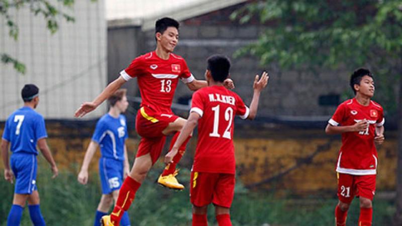tranh gap thai lan u16 viet nam rong mo vao chung ket