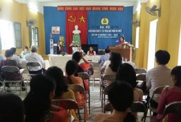 Đại hội điểm CĐCS nhiệm kỳ 2017-2022: Đợt sinh hoạt dân chủ, rộng rãi của đoàn viên