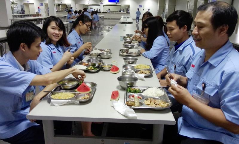 Các cấp Công đoàn Hà Nội: Chăm lo bữa ăn ca cho công nhân
