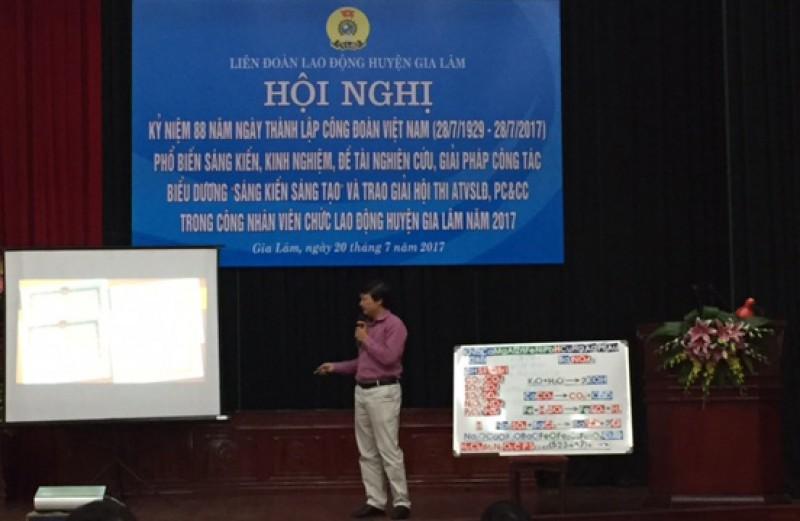 LĐLĐ huyện Gia Lâm: Thúc đẩy phong trào sáng kiến, sáng tạo