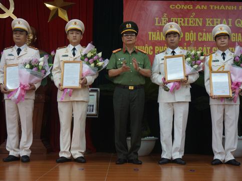 Hà Nội thành lập Đội Cảnh sát giao thông Đường sắt