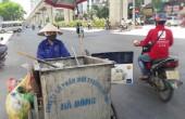 Người lao động vật vã mưu sinh dưới trời nắng nóng