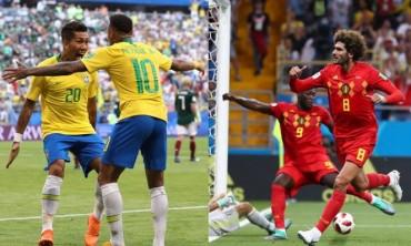 Brazil – Bỉ: Chờ màn tấn công rực lửa
