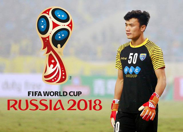Bùi Tiến Dũng sang Nga trao giải ở bán kết World Cup 2018