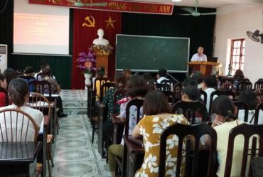 LĐLĐ huyện Quốc Oai: Tuyên truyền chính sách pháp luật về bảo hiểm xã hội