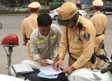 Tăng cường xử lý vi phạm trật tự và giao thông