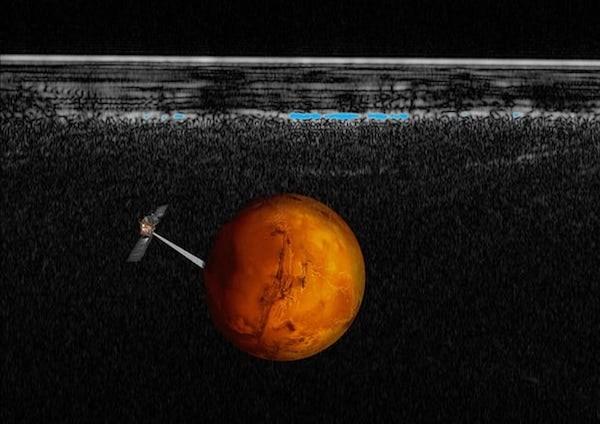 Lần đầu tiên phát hiện nước dạng lỏng trên Sao Hỏa