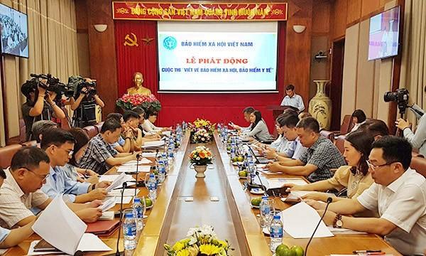 """Bảo hiểm xã hội Việt Nam phát động cuộc thi """"Viết về BHXH, BHYT"""""""