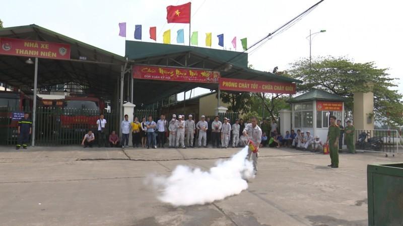 cong an tp ha noi day manh cong tac phong chay chua chay