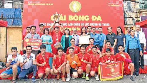 Sôi nổi các hoạt động chào mừng 90 năm Công đoàn Việt Nam