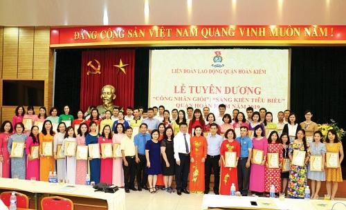 Liên đoàn Lao động quận Hoàn Kiếm: Nối dài bảng vàng thành tích