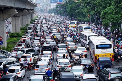 Thu phí vào nội đô có làm Hà Nội bớt tắc đường?