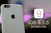 Apple tung ra bản vá lỗi iOS 9.3.5 khắc phục lỗ hổng bảo mật
