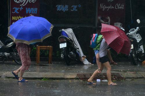 Miền Bắc xuất hiện mưa dông dịp nghỉ lễ 2/9