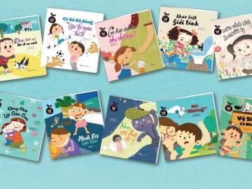 Ra mắt bộ sách Giáo dục giới tính dành cho trẻ em