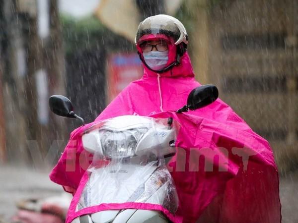 Khu vực Bắc Bộ chuẩn bị đón đợt mưa dông lớn trên diện rộng