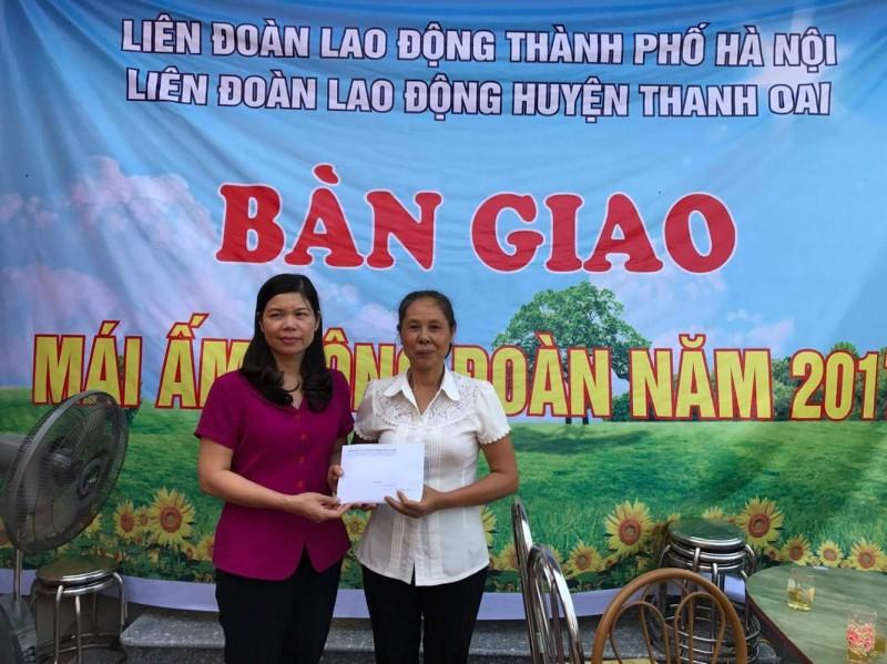 LĐLĐ huyện Thanh Oai: Lấy lợi ích đoàn viên là trung tâm