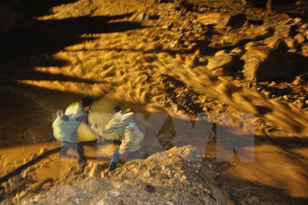 Tìm thấy người mất tích do mưa lũ nghiêm trọng tại Mù Cang Chải
