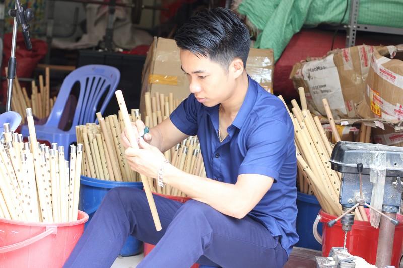 Người muốn đưa sáo trúc Việt ra thế giới