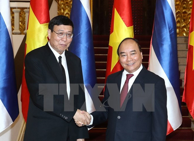 Thủ tướng tiếp Chủ tịch Hội đồng Lập pháp quốc gia Thái Lan