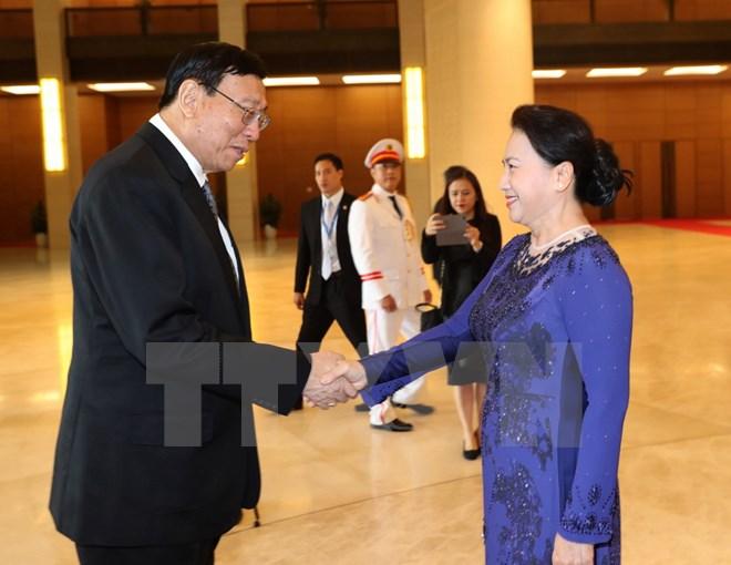 Chủ tịch Hội đồng Lập pháp quốc gia Thái Lan kết thúc thăm Việt Nam