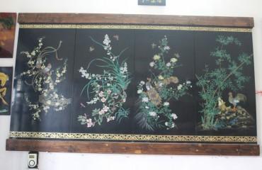 Người giữ hồn tranh sơn khắc Hạ Thái