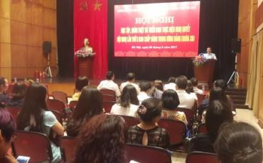 LĐLĐTP Hà Nội ban hành Kế hoạch triển khai Nghị quyết TƯ 5 Khóa XII