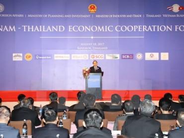 Thủ tướng Nguyễn Xuân Phúc dự Diễn đàn hợp tác kinh tế Việt Nam-Thái Lan