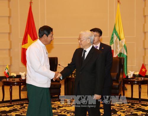 Hoạt động của Tổng Bí thư Nguyễn Phú Trọng tại Myanmar
