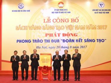 Thủ tướng dự Lễ công bố Sách Vàng Sáng tạo Việt Nam