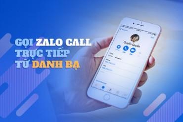 Cập nhật mới giúp gọi điện miễn phí trên Zalo cực nhanh