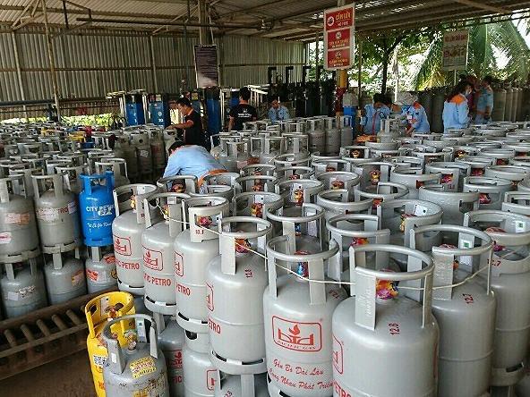 Giá gas tăng mạnh