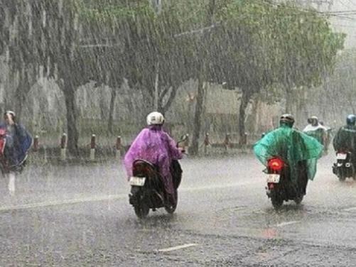 Dự báo các đợt mưa lớn sẽ tiếp diễn ở Bắc Bộ trong tháng 8