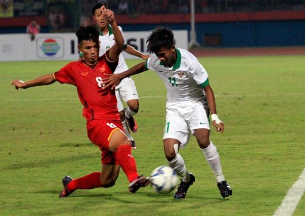 Thua Indonesia, U16 Việt Nam gặp khó trong việc giành tấm vé đi tiếp