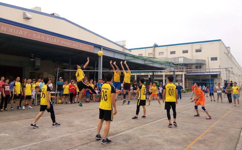 Công đoàn các KCN - CX Hà Nội: Sôi nổi các hoạt động thể thao