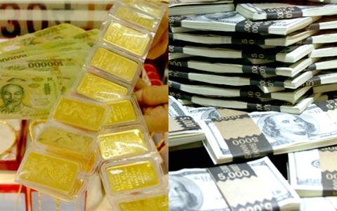 Giá vàng quay đầu tăng, USD giảm
