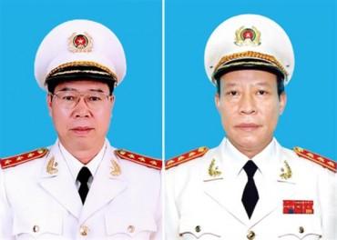 Hai Thứ trưởng Bộ Công an được bổ nhiệm chức danh mới