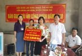 LĐLĐ huyện Thanh Oai: Bàn giao mái ấm công đoàn năm 2018
