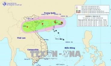 Bão số 4 gây mưa rất to ở Bắc Bộ và Bắc Trung Bộ 3 ngày liên tiếp
