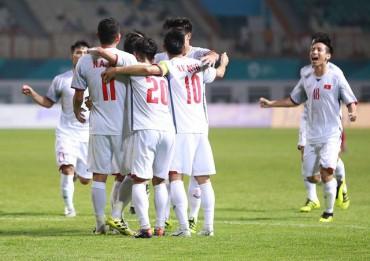Việt Nam là đội bóng Đông Nam Á đầu tiên giành quyền vào vòng 1/8