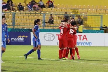 Hạ Thái Lan 3-2, đội tuyển nữ Việt Nam vào tứ kết Asiad 18
