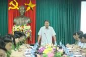 Thượng tướng Lê Quý Vương chỉ đạo truy bắt hung thủ sát hại 2 vợ chồng