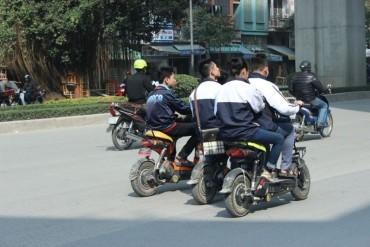 Đẩy mạnh giáo dục kỹ năng tham gia giao thông trong trường học