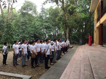 Tháng Tám về khu di tích Đá Chông