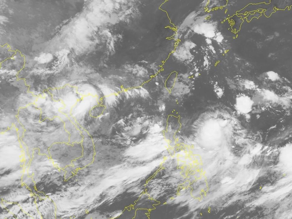 Tin bão mới nhất: Áp thấp nhiệt đới suy yếu từ bão số 3 Wipha giật cấp 7