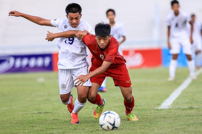 Việt Nam thắng tiến vào bán kết giải U15 Đông Nam Á 2019