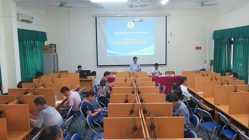Tập huấn sử dụng phần mềm quản lý đoàn viên công đoàn