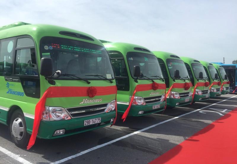 Xe buýt Hà Nội: Tự đổi mới để khẳng định vị thế