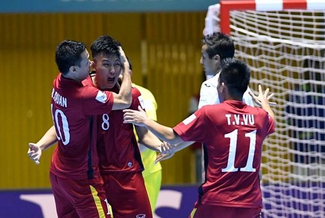 Tuyển Futsal Việt Nam tự tin trước trận đấu quan trọng với Paraguay